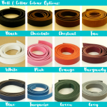 Belt & Collar Colour Options
