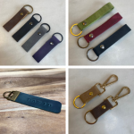 Leather Keyrings Cover